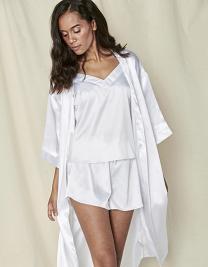 Ladies Satin Robe