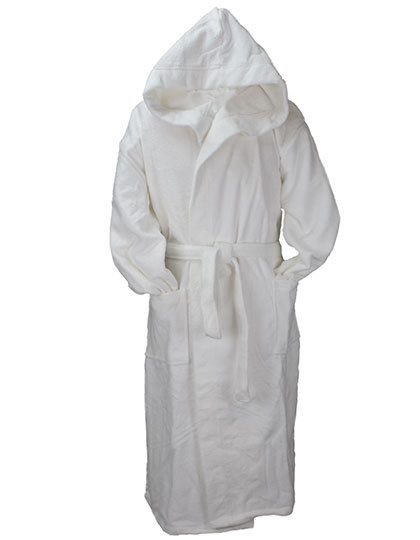 Robezz® All Over Bathrobe Hooded